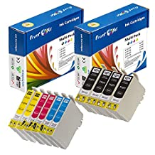 PrintOxe™ Compatible 10 Ink Cartridges for E- T127 ; 2 Sets + 2 BK 127 ( 4 Black T1271 , 2 Cyan T1272 , 2 Magenta T1273 , 2 Yellow T1274 ) T127XL for Stylus and WorkForce Printers (See Compatible Models under Description). Exclusively sold by PanContinent.