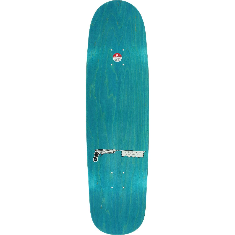 Shake Junt Hostage Crisis Assorted Colors Cruiser Skateboard Deck - 8.75'' x 32'' with Jessup Griptape - Bundle of 2 Items
