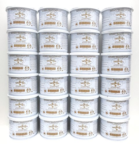 Sharonelle Natural Soft All Purpose Honey Wax in 14 oz. - 24 cans by Sharonelle