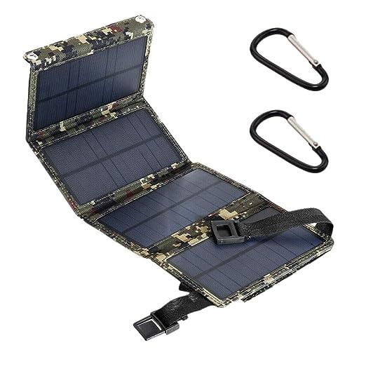 TOOGOO 15W 5V 2A EnergíA Solar Usb Panel Solar Plegable ...