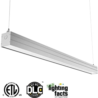 linear suspension lighting. hykolity 4ft 40w linkable led architectural ceiling light modern linear suspension pendant lamp lighting fixture 4600