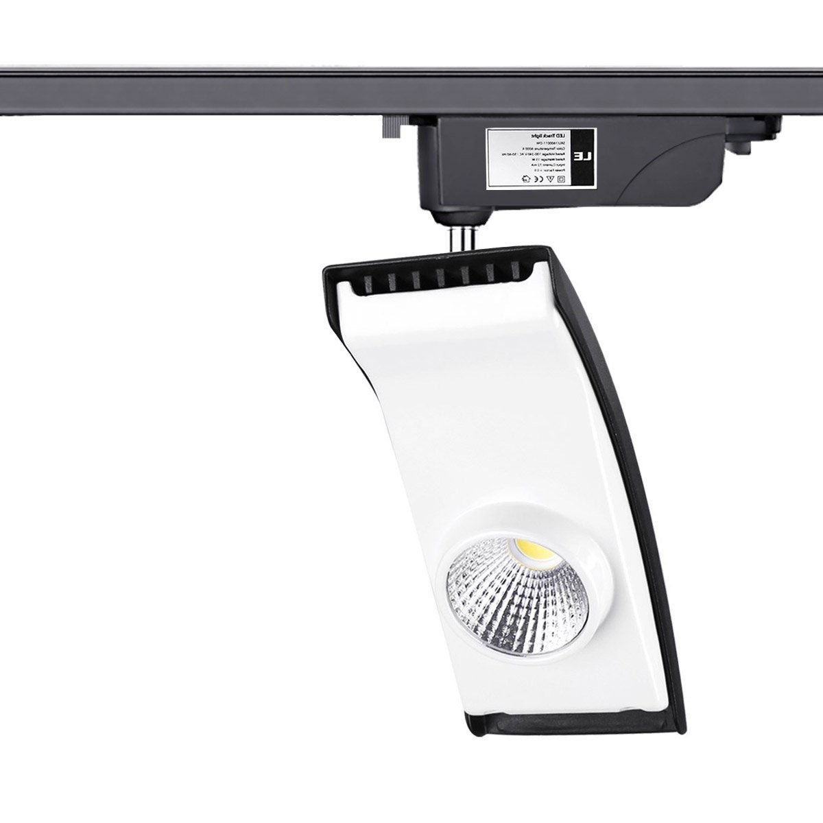 track lighting without wiring. LE 15W LED Track Lighting, 100W Halogen Bulbs Equivalent, 850lm, R9\u003e95, Warm White, 3000K, 30° Beam Angle, Spotlights, 3-wire Lights, Lighting Without Wiring O