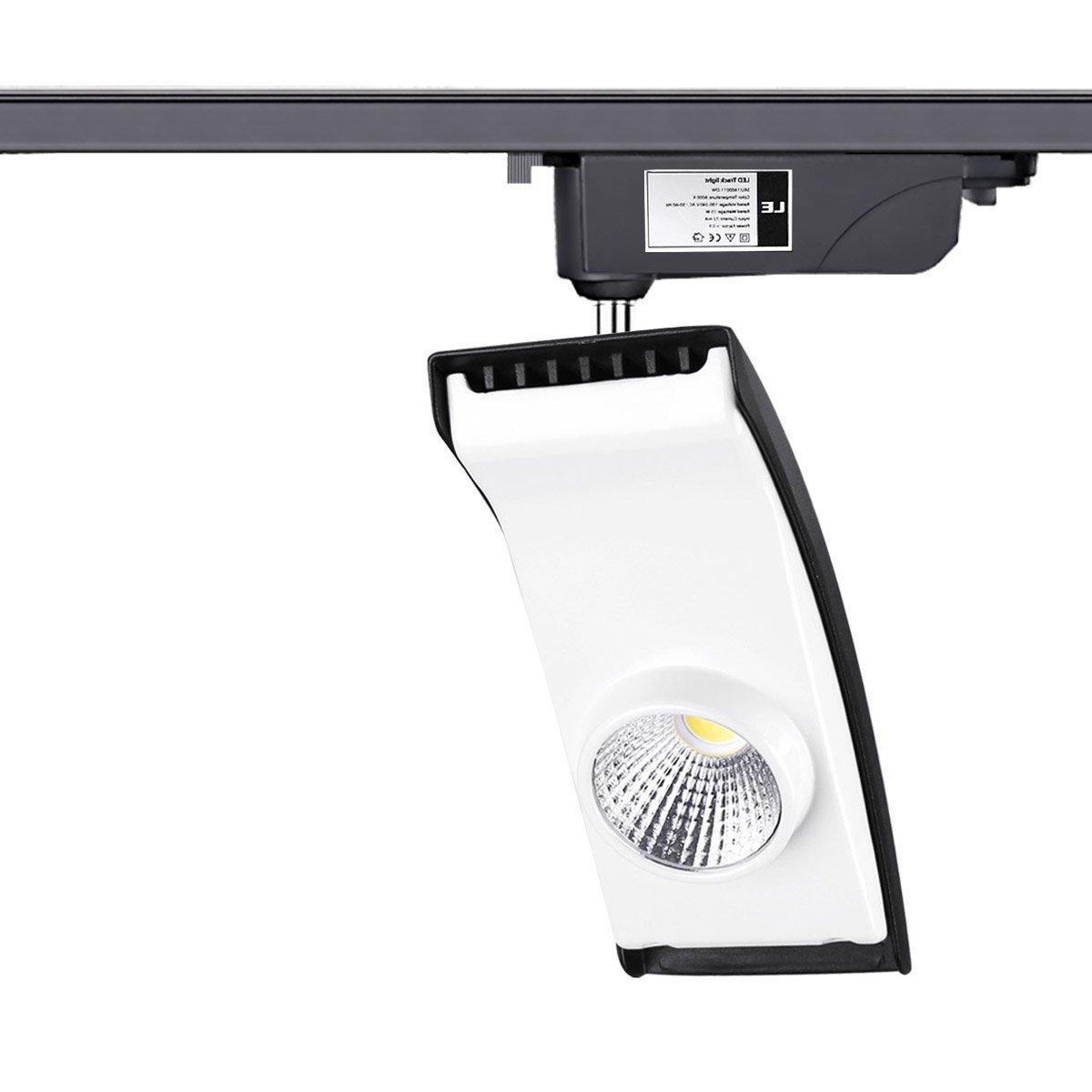 LE 15W LED Track Lighting 100W Halogen Bulbs Equivalent 850lm R9u003e95 Warm White 3000K 30° Beam Angle Spotlights 3-wire Track Lights ...  sc 1 st  Amazon.com & LE 15W LED Track Lighting 100W Halogen Bulbs Equivalent 850lm ... azcodes.com