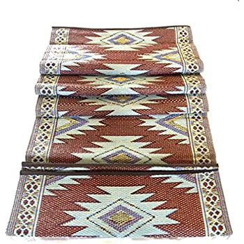 Amazon Com 2 Pk 5 X7 Reversible Indoor Outdoor Rugs Rv Camping