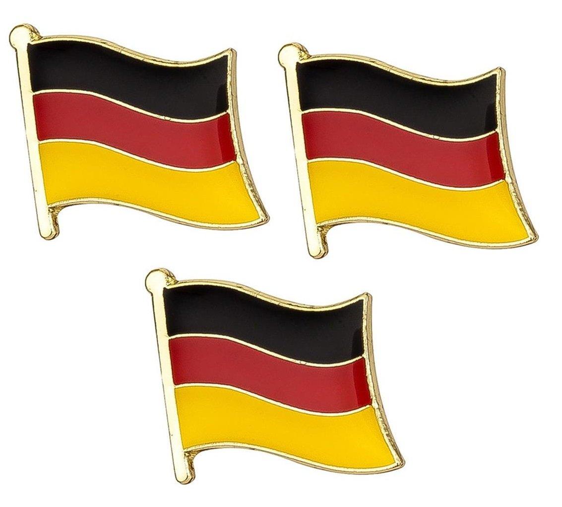 【2019春夏新色】 3 3 B079CMFPLK xのセットドイツの国旗バッジバッジドイツのバッジドイツの国旗ピンバッジ B079CMFPLK, 【問屋直営】シューズブリッジ:2ad0d9dd --- mcrisartesanato.com.br