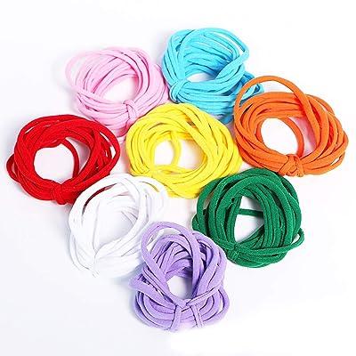Per DIY Knitting Kit Stretchy Loops Potholder Loom Set Innovative Handmade Toys for Kids Toddlers: Home & Kitchen