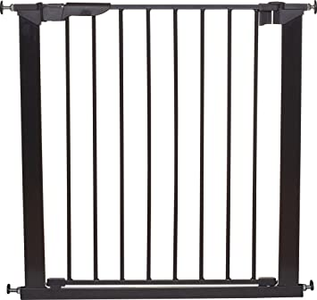 NEW BABYDAN EXTRA TALL PREMIER PRESSURE PET/& BABY SAFETY STAIR GATE BLACK