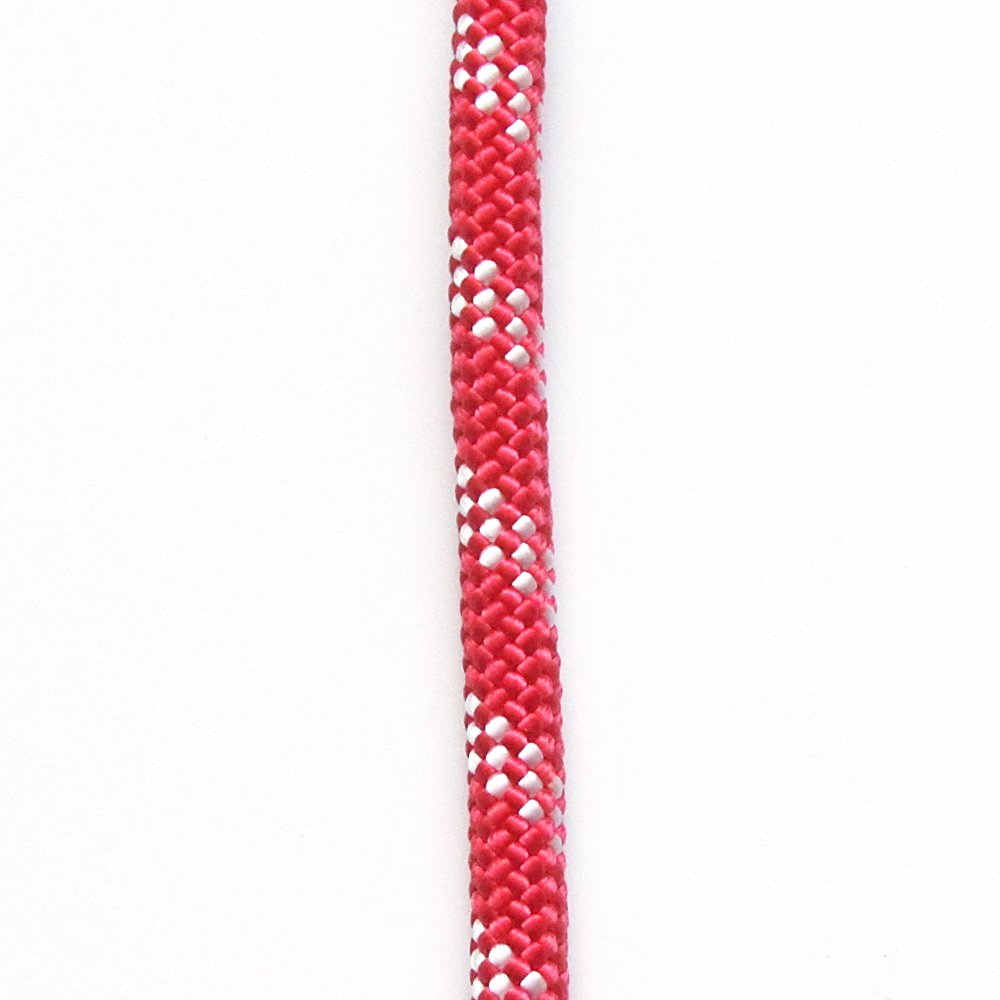 OPG ATAR static kernmantle rescue rappelling rope 11mm x 100 feet Fire Red UL ANSI NFPA USA 7500lbs MBS