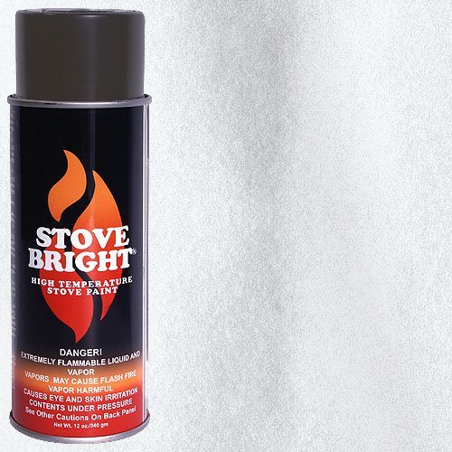 Stove Bright High Temp Paint - Silver