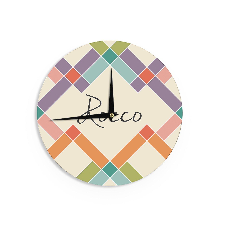 Kess InHouse Kess Original Rocco Colorful Geometry 12 Diameter
