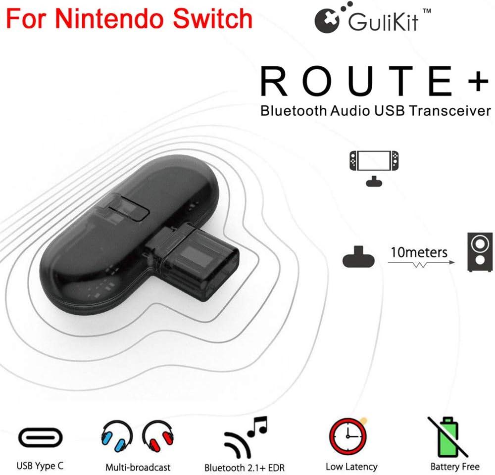 Xk9ykd APTX LL - Mini transmisor de Audio (USB Tipo C, Dongle Gulikit Route+ Adaptador Bluetooth): Amazon.es: Electrónica