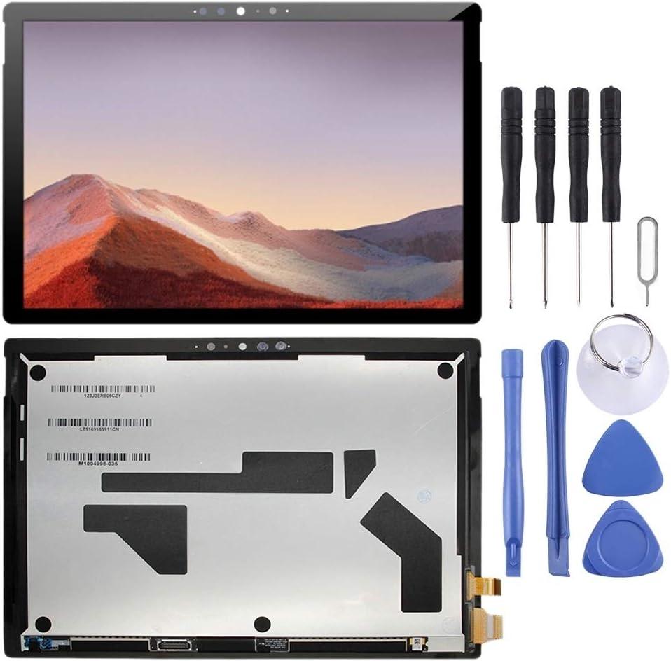 DINGJIA Excelente Pantalla LCD y digitalizador Asamblea Completa de Microsoft Surface Pro 7 1866 (Negro) (Color : Black): Amazon.es: Electrónica