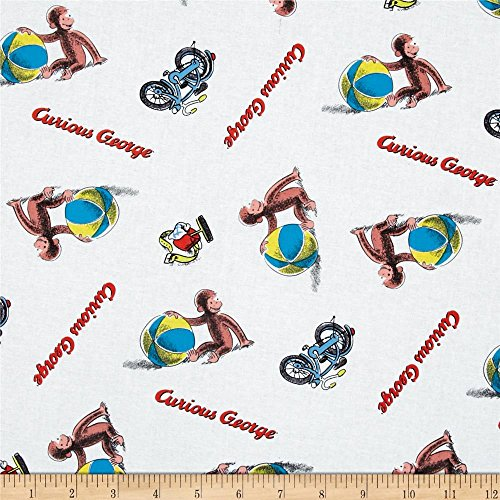 (1/2 Yard - Classic Curious George