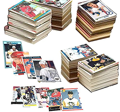 Perfect for Gift Giving. 600 Hockey Cards Including Rookies Many Stars /& Hall-of-famers