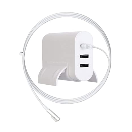 Cargador de Repuesto para Macbook Pro de 85 W, Ponkor Magsafe con Adaptador de Corriente con 2 Puertos USB para Apple Mac Book Pro de 15 Pulgadas y 17 ...
