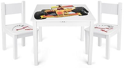 Tavolini In Legno Per Bambini : Tavolino set da cameretta per bambini tavolo e sedie in legno