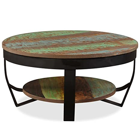 Festnight Wooden Coffee Table Side Table For Living Room Solid