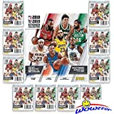 2018/19 Panini NBA Basketball Stickers Special Collectors Package with 60 Brand New MINT Stickers & 72 Page Collectors Album! Look for Stickers of Lebron, Durant, Mitchell, Curry & Many More! WOWZZER!
