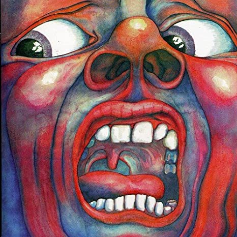Image result for king crimson in the court of the crimson king