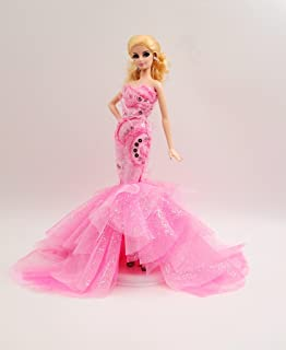 Cora Gu [Handmade Dress Fit for Barbie Doll] Handmade Pinky Candy Gown/Dress