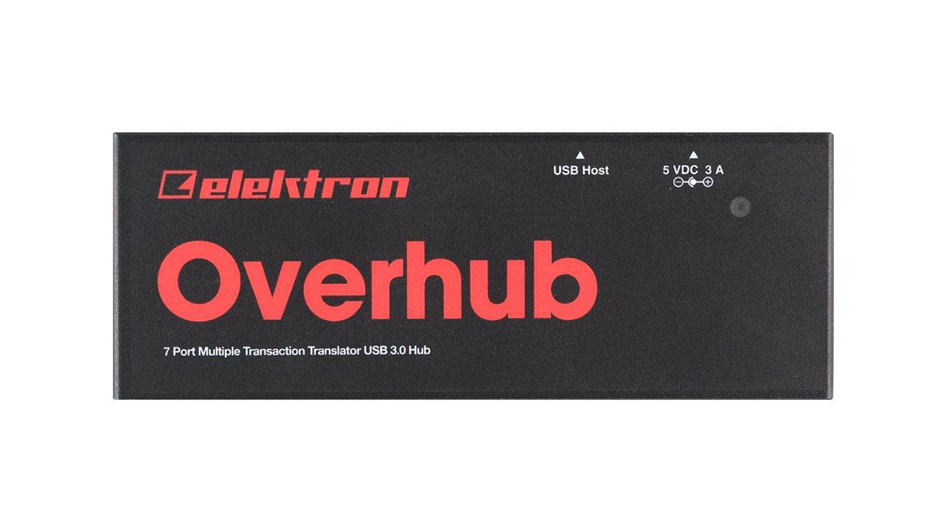 Elektron Overhub 7-Port USB 3.0 Hub
