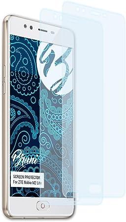 Bruni Película Protectora para ZTE Nubia M2 Lite Protector Película, Claro Lámina Protectora (2X): Amazon.es: Electrónica