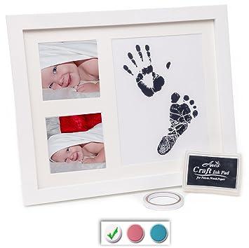 Amazon.com : BABY HANDPRINT KIT - BABY HANDPRINT AND BABY FOOTPRINT ...