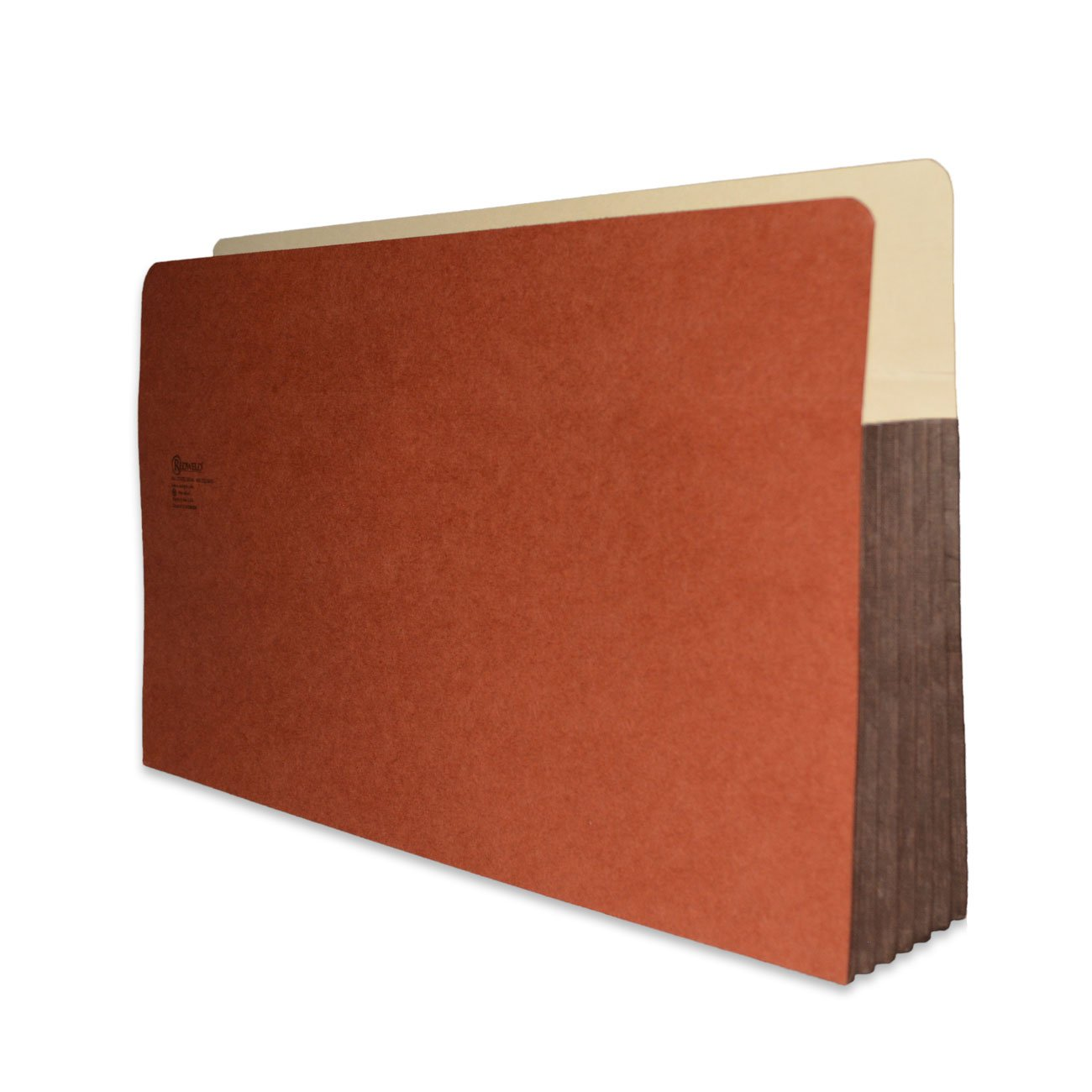 Redweld File Pocket, Top Tab, Legal Size with 5 1/4'' Fully Reinforced Tyvek Gusset, 50 per Carton