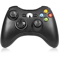 RegeMoudal Mando pare Microsoft Xbox 360 Inalámbrico Gamepad Controlador Joypad con Vibración Doble Ergonomía Windows 10/8.1/8/7/XP Bluetooth 10 Metros