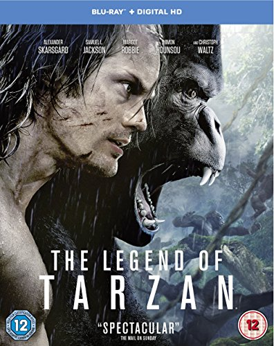 The Legend of Tarzan [Includes Digital Download] [Blu-ray] [2016] [Region -