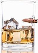 Una idea regalo per uomini duri? Prova questo Bicchiere con proiettile incorporato. Sembra quasi che il bicchiere abbia bloccato il proiettile salvandoti la vita!