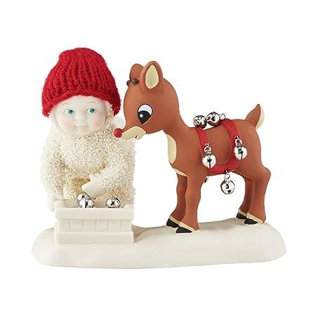 Department 56 Snowbabies Jingle, Jingle, Jingle Porcelain Figurine, 3.5