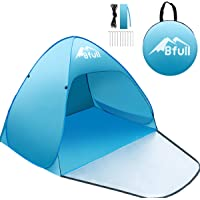 BFULL Outdoor Automatic Pop up Beach Tent, Portable Anti-UV Tent, Blue