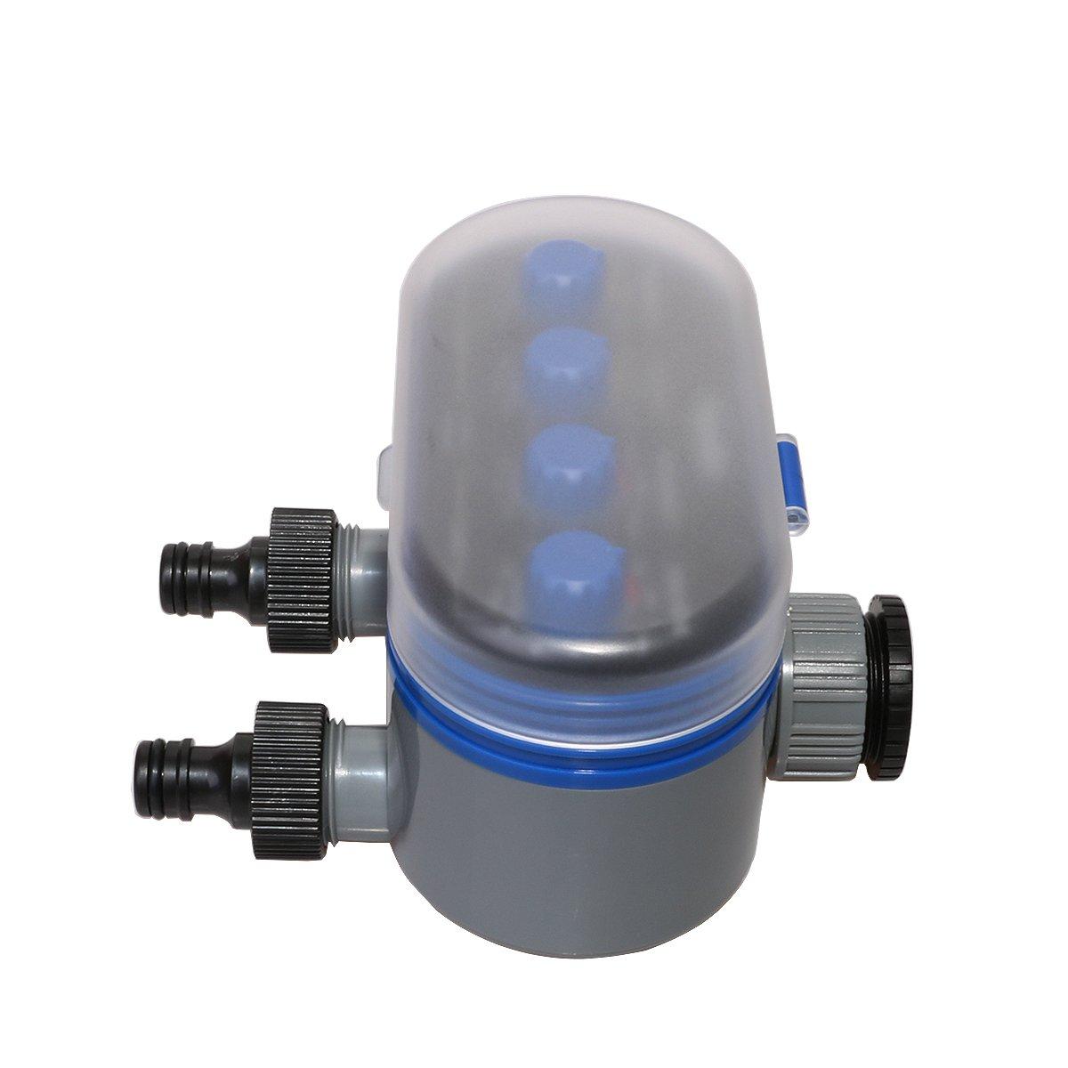 Aqualin Programador de riego Temporizador de riego con 2 Salidas Independientes