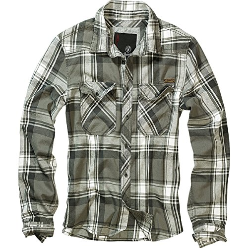 Brandit Checkshirt oliv S