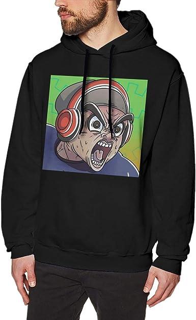 Mens Hoodie I AM Game-Wildcat Back Print Sweatshirt Black