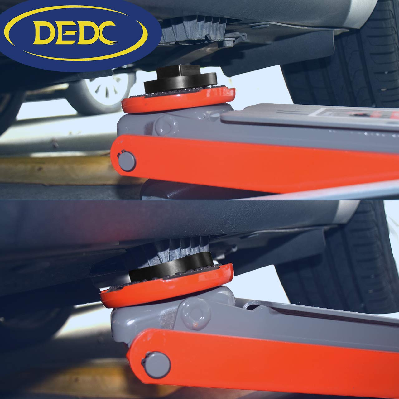 TONGXUTONGXU Universal for BMW and Mini Slotted Rubber Jack Pad Frame Rail Protector Jack Block 4pcs
