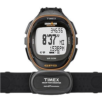 amazon com timex full size t5k575 ironman run trainer gps hrm rh amazon com Timex Ironman Triathlon Watch timex ironman triathlon user manual