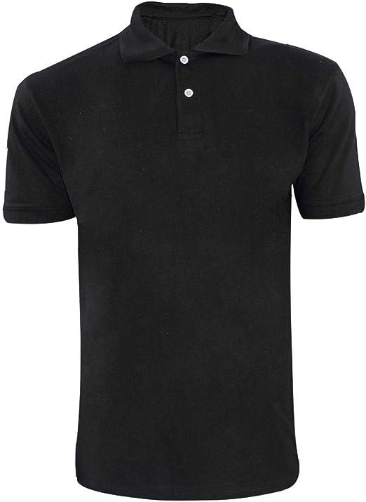 black collar t shirt mens