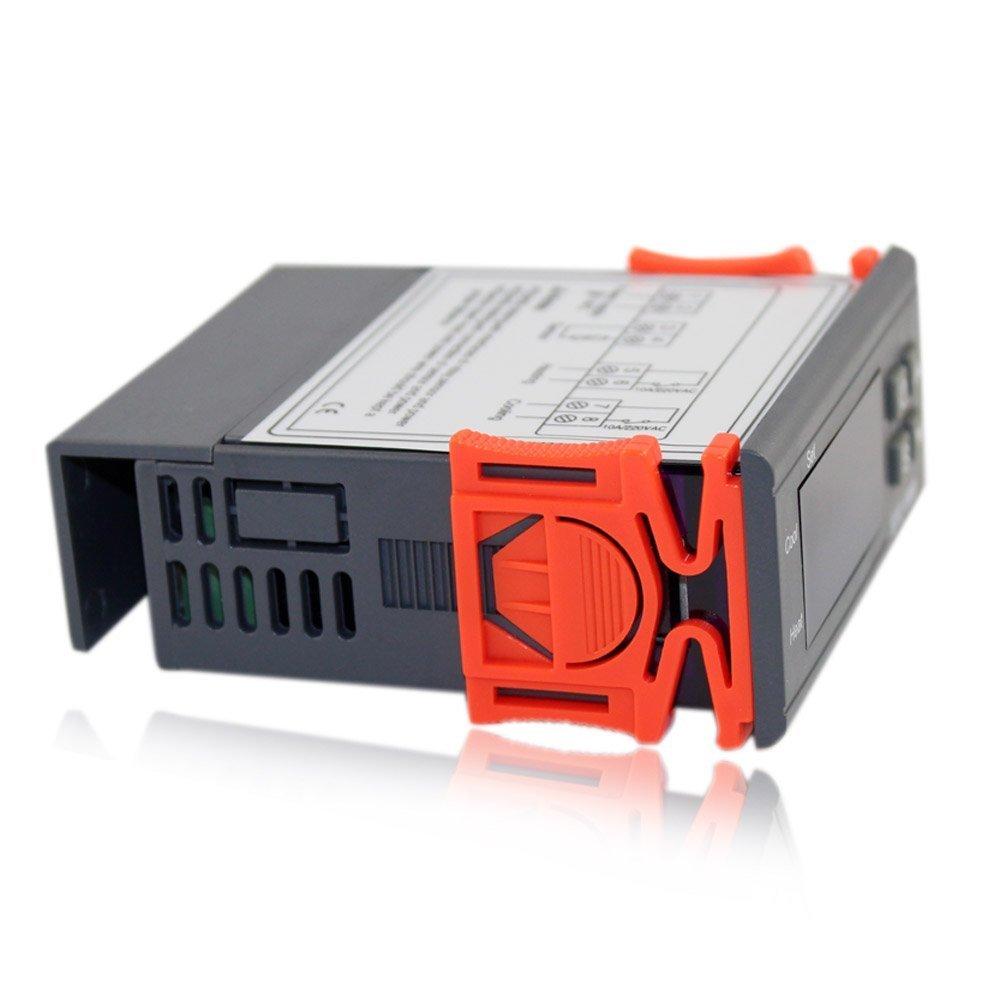 CONTROLADOR DE TEMPERATURA LED ACUARIO DIGITAL VIDRIO: Amazon.es: Electrónica