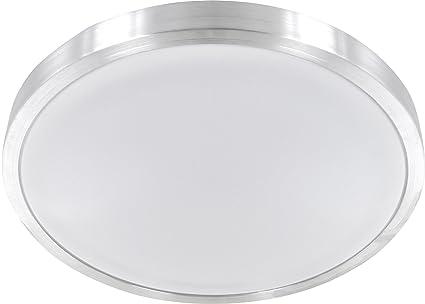 Plafoniera Bagno : Plafoniera led in alluminio ip da bagno w lm