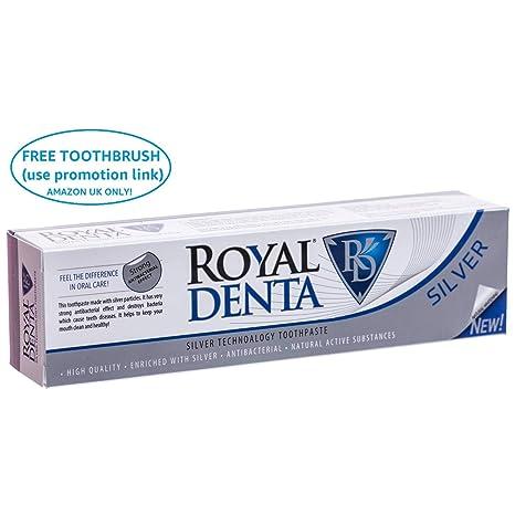 Royal Denta de Plata, Pasta de diente 130gr.