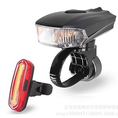 Éclairage Arrière USB Rechargeable LED Étanche Feu Arrière de Vélo Imperméable pour VTT VTC Cycliste Camping Loisir
