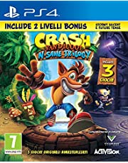 Offerte speciali su Crash Bandicoot N.Sane Trilogy + 2 Livelli Bonus - PlayStation 4 e molto altro