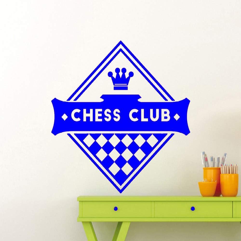 yaoxingfu Logotipo del Club de ajedrez Tatuajes de Pared Patrón de ...