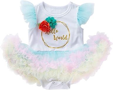 Amazon.com: Disfraz de princesa de unicornio para primera ...