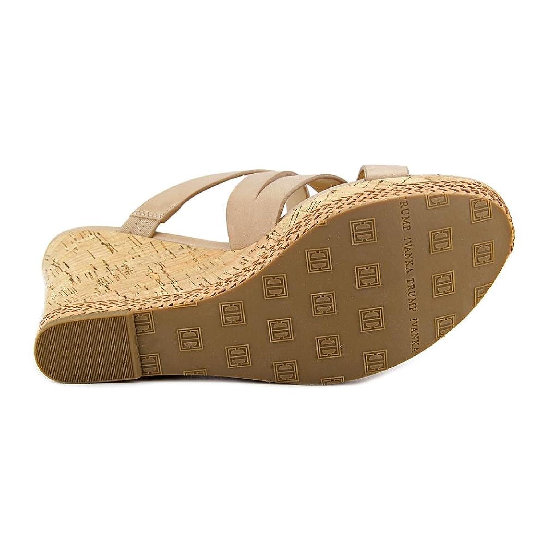 Amazon Ivanka Trump Habbie Women US 11 Nude Wedge Sandal Shoes