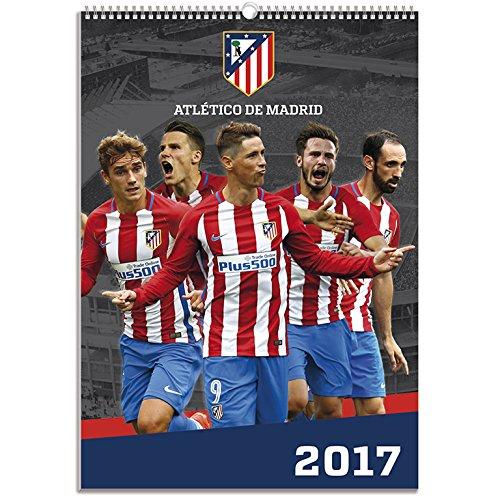 Calendario Atletico Madrid.Grupo Erik Editores A3 Atletico De Madrid Kalender 2017
