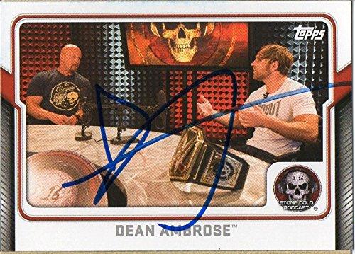 dean ambrose autograph - 7