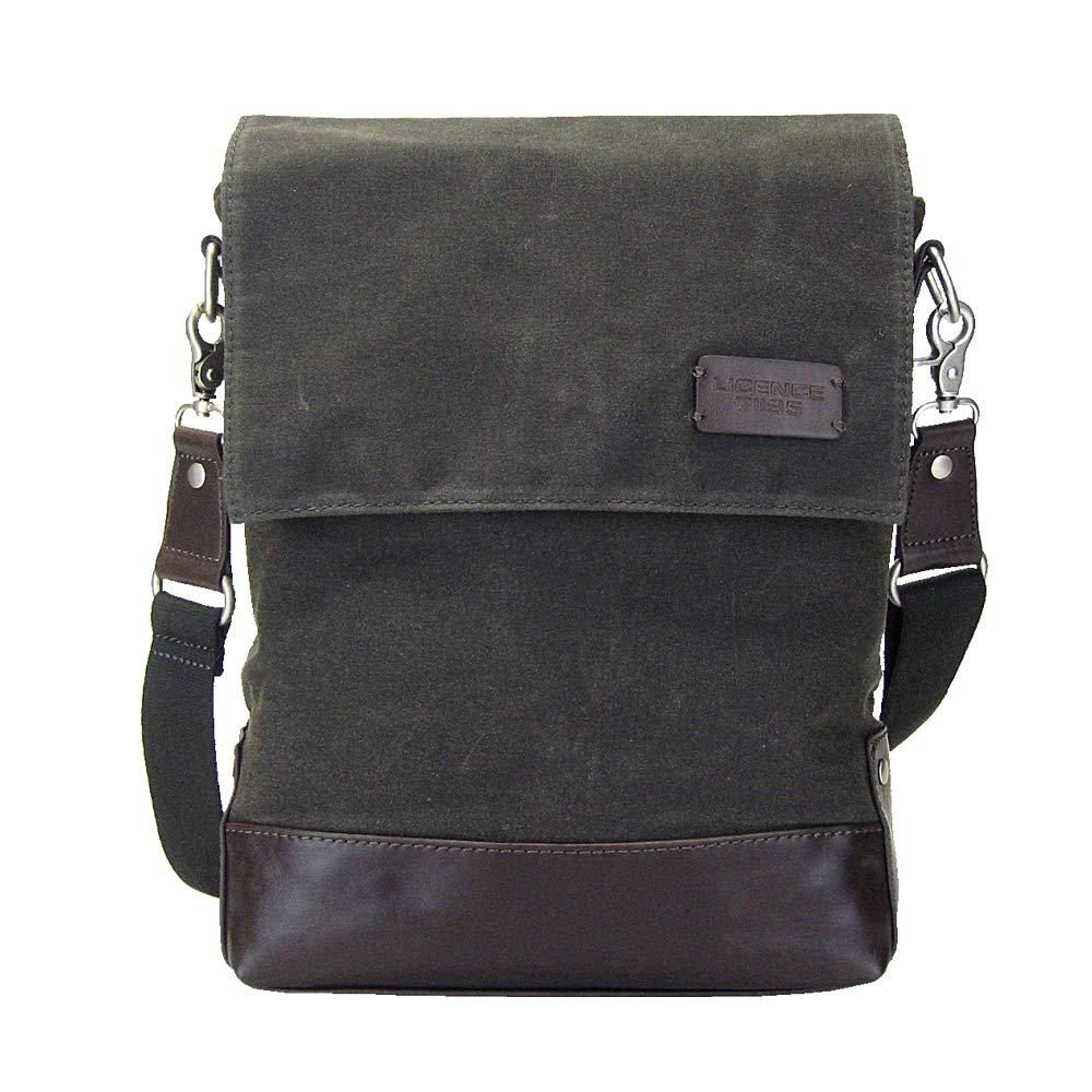 Grey LICENCE 71195 College WaxC Shoulder Bag